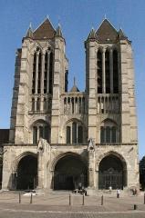 Ancienne cathédrale (église Notre-Dame) et ses annexes -  Façade de la cathédrale