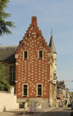 Ancien évêché - English: Noyon, the seat of a bishop