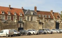 Maisons canoniales - English: Noyon, houses of the canons