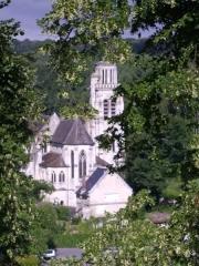 Eglise - English:  Exterior of the  château de Pierrefonds (Oise, France)