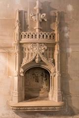 Ancienne cathédrale et son chapître -   Gothic niche, whose vocation is not specified.
