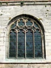 Eglise Saint-Pierre - Baie Renaissance de la seconde travée du bas-côté sud.