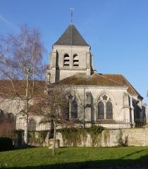 Eglise - Français:   Église Saint-Georges de Chivres-Val.