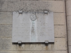 Ancien Prieuré de Saint-Ouen - Français:   Chapelle de l\'ancien prieuré de Saint-Ouen à Condé-sur-Aisne, plaquette Jeanne-d\'Arc