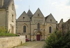 Eglise - English: Coucy-le-Château-Auffrique, the church Saint-Sauveur