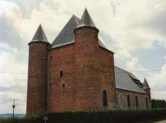 Eglise Saint-Nicolas - English: Église Saint-Nicolas d'Englancourt en 1991