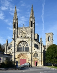 Eglise Saint-Martin - Église Saint-Martin, Laon, Aisne, France