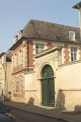 Maison - English: Laon, house 16 Rue Saint-Martin