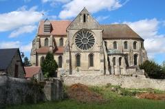 Eglise - Église Saint-Pierre-et-Saint-Paul de Mons-en-Laonnois en France.