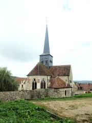 Eglise - Français:   Église Saint-Martin de Nesles-la-Montagne (Aisne, France)