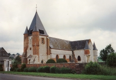 Eglise Notre-Dame-de-l'Espérance - English:   Église Saint-Nicolas de Noircourt en 1991