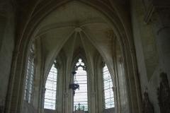 Eglise Saint-Julien et Saint-Jean-Baptiste - Français:   Les baies de l\'abside (XII-XIIIe siècle)