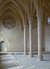 Ancienne abbaye de Saint-Jean-des-Vignes - Nederlands: Soissons, Aisne, Picardie. Abdij Saint-Jean-des-Vignes, XIIIe eeuw. Het gerestaureerd refectorium.