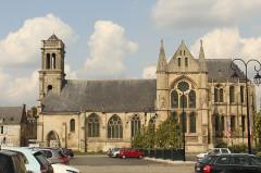Ancienne abbaye Saint-Léger - English: Soissons, the Saint Leodegar church