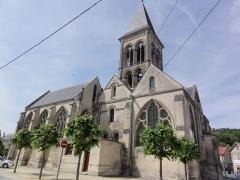 Eglise - Français:   Église Notre-Dame de Vailly-sur-Aisne