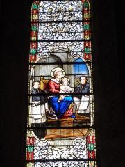 Eglise Notre-Dame-de-l'Assomption - Église Notre-Dame de Vervins, vitrail
