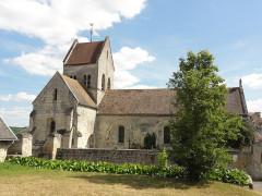 Eglise - English: Vregny (Aisne) église