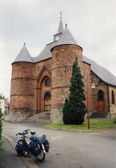 Eglise - English: Église Saint-Martin de Wimy en 1991