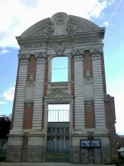 Ancien couvent des Ursulines - Français:   Façade de l\'ancien couvent des Ursulines à Abbeville (fr-80)