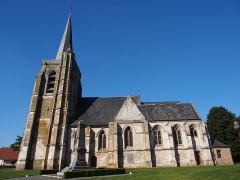 Eglise de l'Assomption - English: Notre-Dame-de-l'Assomption in Ailly-le-Haut-Clocher, Somme, France.