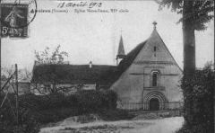 Eglise Notre-Dame et Prieuré -  Eglise Notre-Dame, à Airaines (Somme, Picardie, France) -   (Carte postale ancienne: avant 1914) - Photographiée ou scannée par Paul VASSEUR et communiquée pour publication à Marc ROUSSEL (Markus3).  Camera location49°57′45.99″N, 1°56′20.98″EView this and other nearby images on: OpenStreetMap - Google Earth 49.962775;    1.939162