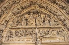 Cathédrale Notre-Dame - Amiens tympan droit