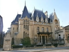 Hôtel Bouctot-Vagniez, actuellement Chambre régionale de Commerce et d'Industrie de Picardie - Français:   Amiens, rue des Otages: Hôtel Bouctot-Vagniez.