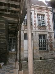 Hôtellerie de l'Angle (ou de l'Ange) d'Or - Français:   Amiens - Hôtellerie de l\'Ange d\'Or