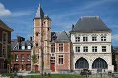 Logis du Roi - Français:   Logis du Roi et maison du Sagittaire Amiens Somme France