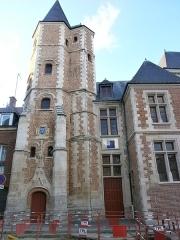 Logis du Roi - Français:   Amiens - Logis du Roi, façade