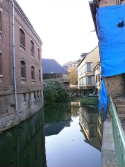 Moulin Passe-Arrière - Français:   Amiens - Moulins du quartier Saint-Leu, 186-188 rue Saint-Leu