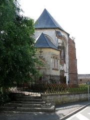 Eglise - This building is indexed in the Base Mérimée, a database of architectural heritage maintained by the French Ministry of Culture,under the reference PA00116164 .