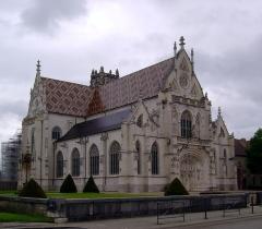 Ancienne abbaye de Brou - English: Exterior of Église de Brou.