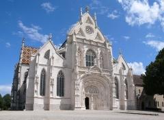 Ancienne abbaye de Brou -  Église de Brou (Bourg-en-Bresse, Ain, France) (aus 2 Bildern)