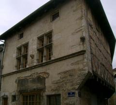 Maison - English: Maison 30 rue de la République (Bourg-en-Bresse): façde rue de la république.
