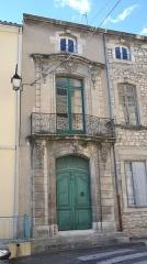Hôtel Pontal de Megret -  Bourg-Saint-Andéol (Ardèche, France), place de la République, hôtel particulier Pontal de Megret.