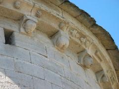 Eglise -  Église Saint-Martin, détail extérieur