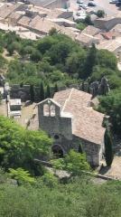 Chapelle Notre-Dame-des-Anges - Français:   Chapelle Notre-Dame-des-Anges de Rochemaure (Inscrit)