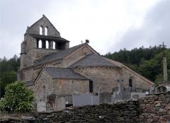 Eglise - Français:   Église de Saint-André-Lachamp, Ardèche, France