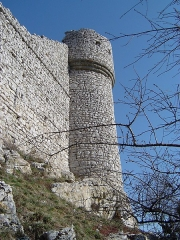 Château de Crussol (ruines) - This building is inscrit au titre des monuments historiques de la France. It is indexed in the base Mérimée, a database of architectural heritage maintained by the French Ministry of Culture,under the reference PA00116800 .