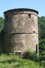 Vieux château (restes) -  Château de Thorrenc