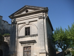 Chapelle des Dominicains, dite aussi chapelle Notre-Dame-du-Rhône - Français:   ancienne chapelle du couvent des dominicaines