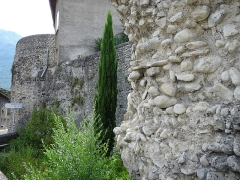 Remparts -  Ramparts of Die (Drome, France); well damaged by the weather and pollution they are visible to all.
