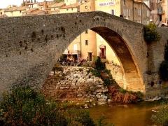 Pont sur l'Eygues -  Pont roman de Nyons