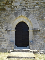 Chapelle Sainte-Anastase -  In Sainte-Jalle (Drome, France), the former chapel Sainte Anastase; private property, the construction dates from the 12th and 13th centuries.