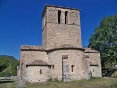 Eglise - Église Notre-Dame-de-Beauvert,  (Inscription, 1926): Abside