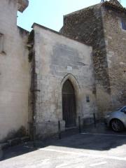 Chapelle funéraire des Seigneurs de la Baume - Français:   Chapelle Saint Sébastien de Suze la Rousse
