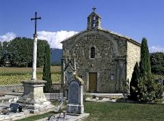 Chapelle du cimetière - Français:   Chapelle Saint Baudille d\'Upie
