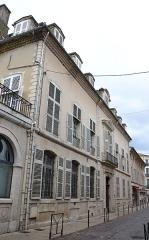 Hôtel du Puy-Montbrun - Français:   Hôtel du Puy-Montbrun (Inscription)