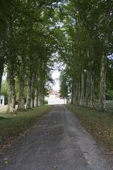 Domaine Paul Claudel - Français:   Le Château de Brangues, propriété de Paul Claudel, près de Morestel (Isère)